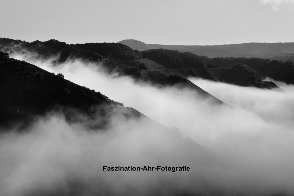 Aufziehende Nebelschwaden