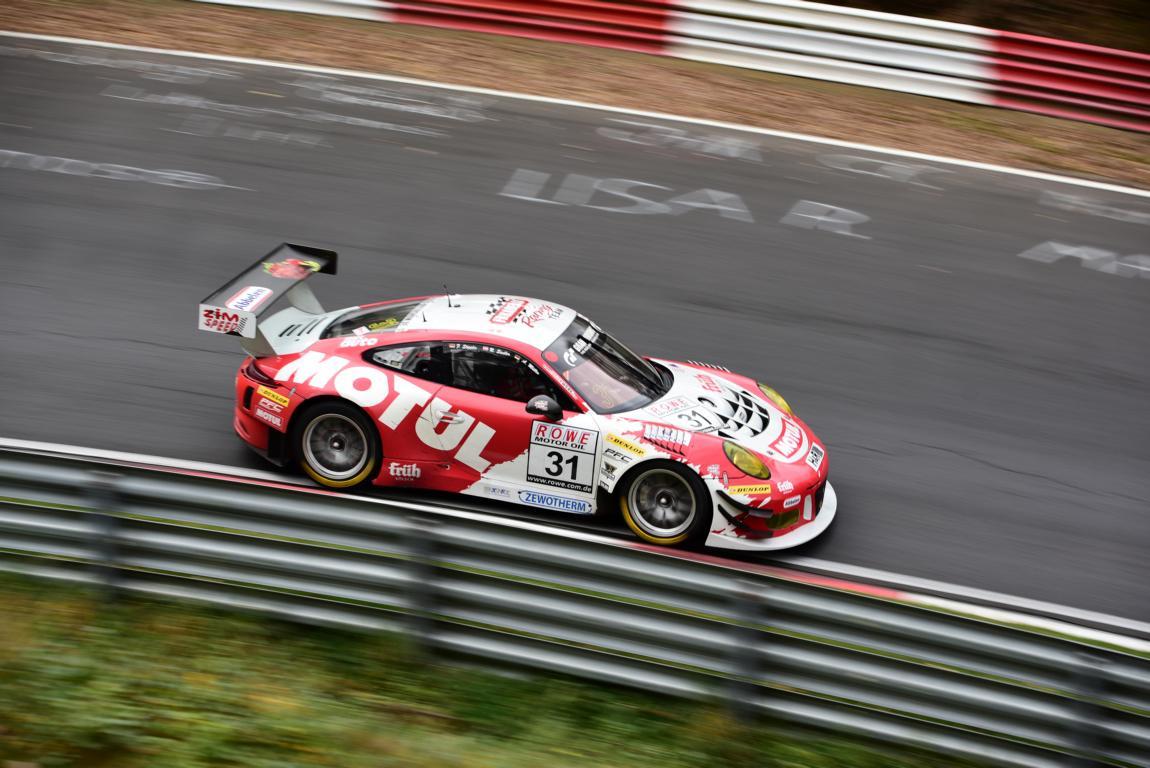 Das zweite Auto von Frikadelli-Racing