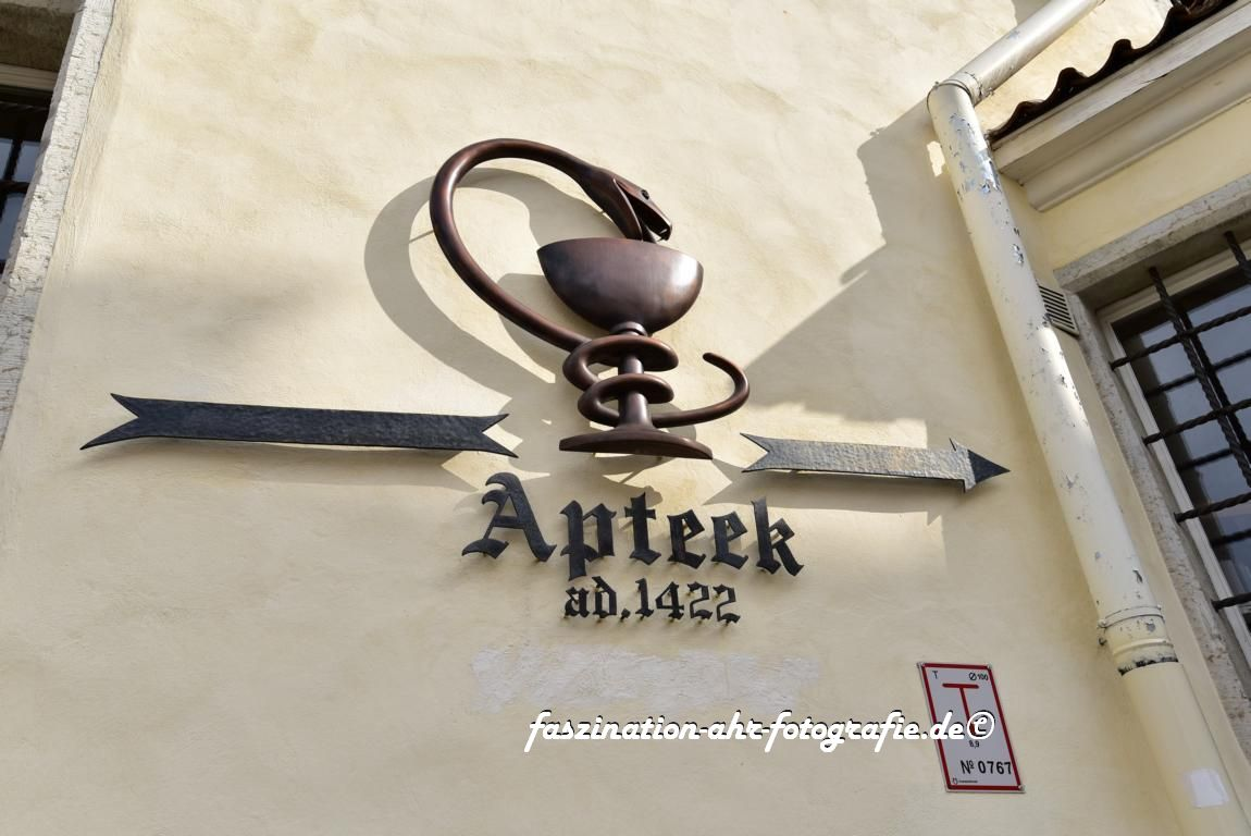 Die älteste Apotheke des Baltikums
