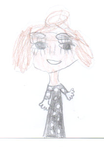 Frau Janke, gemalt von Zahar