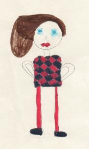 Frau Gerzen, gemalt von Angeli
