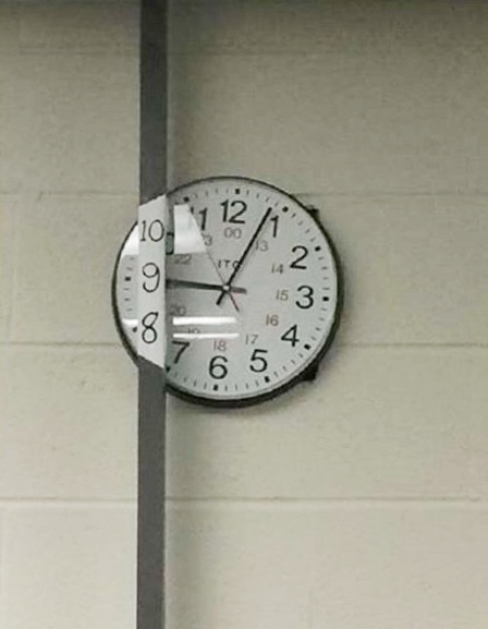 L'effet des heures . 12 avril