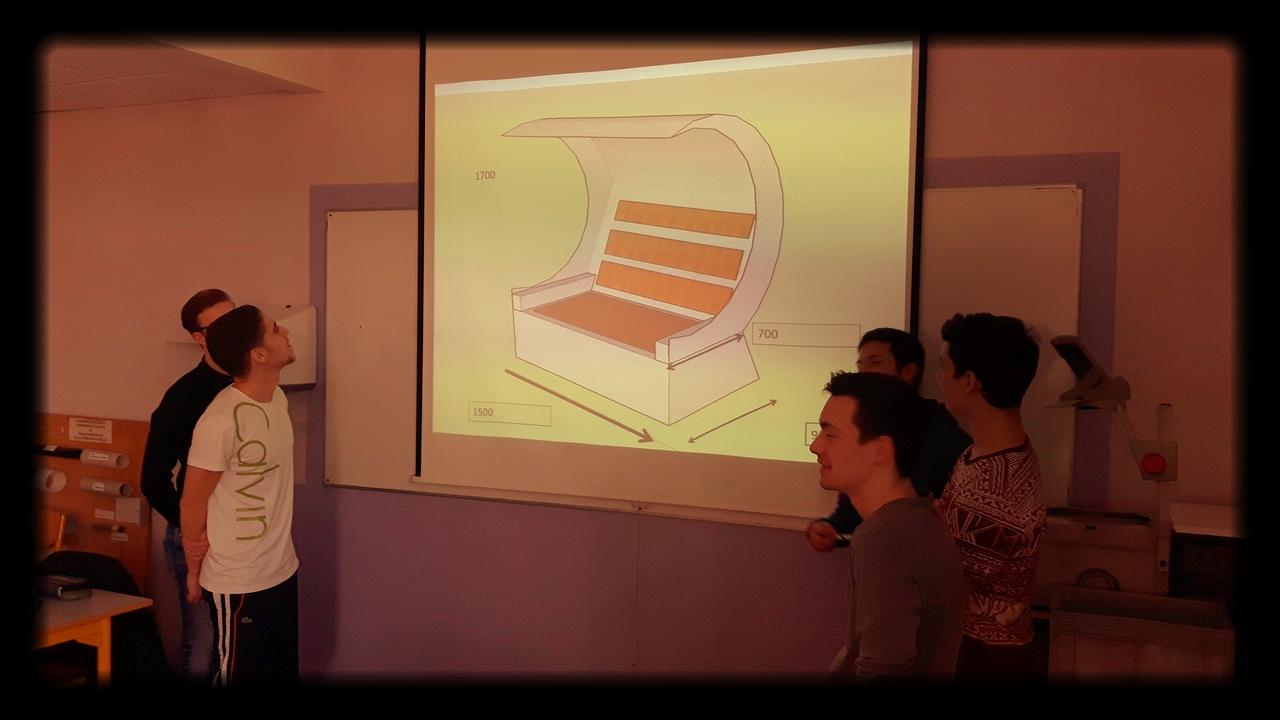 3. Präsentation des Strandkorb Designs