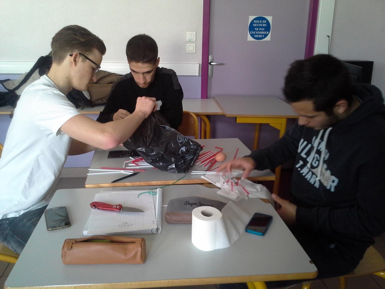 links Philipp Leuschner, BG 12, französische Schüler