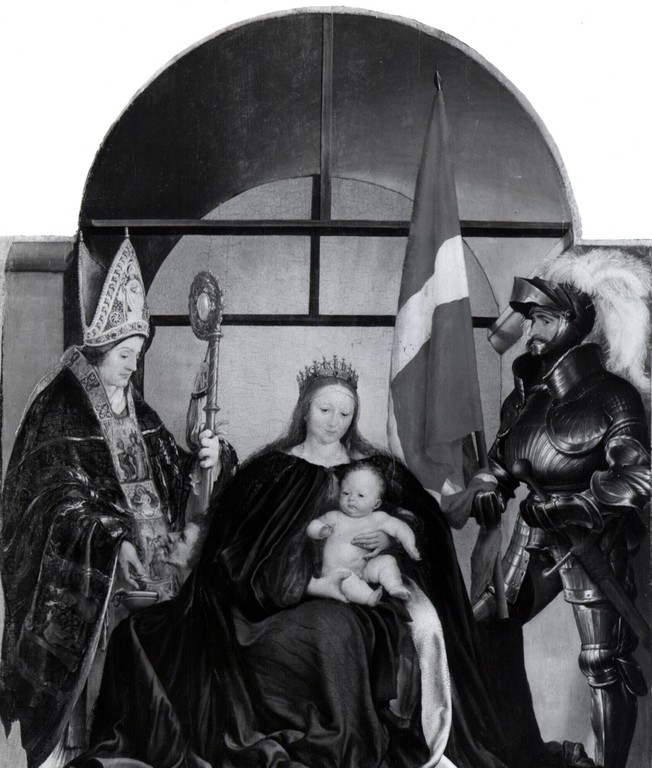 SOLOTHURNER-MADONNA von Hans-Holbein d.J. (1522)