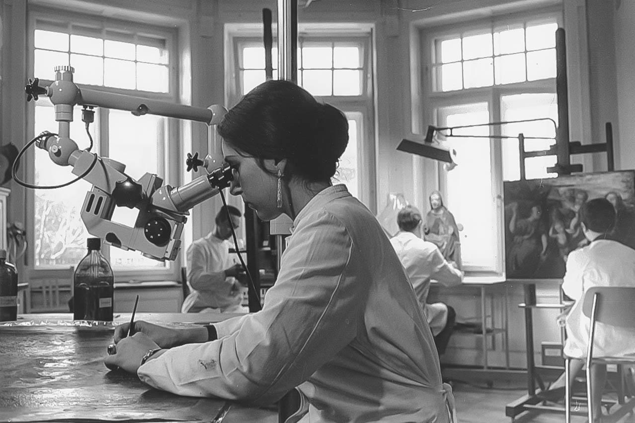 Untersuchung mit dem Stereomikroskop