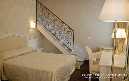 Corte Barozzi Venice Suites - appartamento a 3 camere