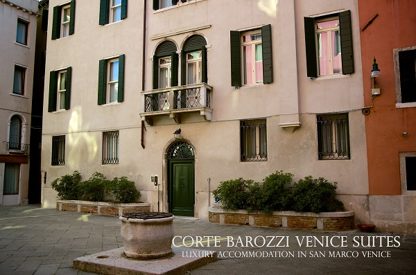 Corte Barozzi Venice Suites l'entrata