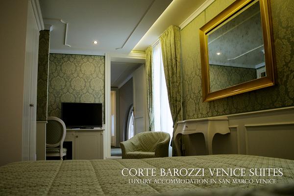 Camera Deluxe vista canale - Corte Barozzi Venice Suites