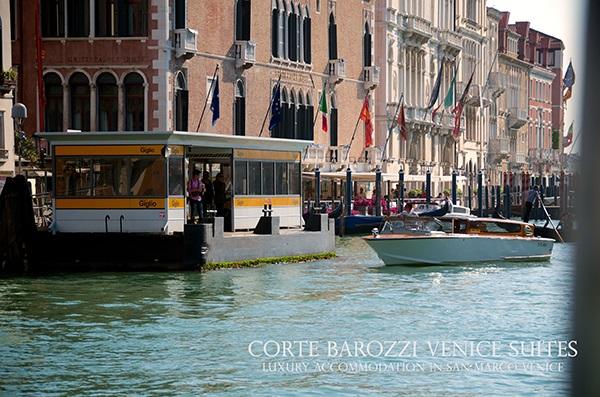 waterbus stop near Corte Barozzi