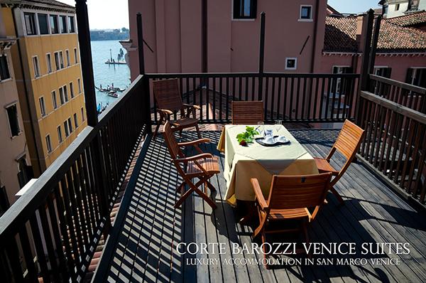 Corte Barozzi Venice - la terrazza