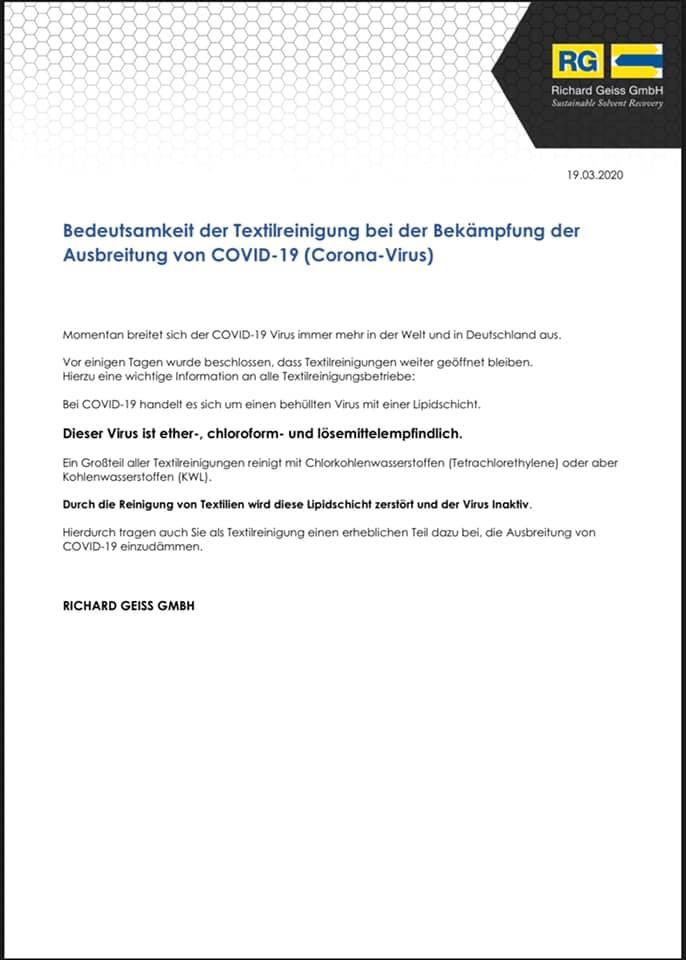 mueden.de, Corona, Bild, Anschreiben Richard Geiss