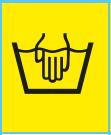 www.mueden.de, Pflegesymbol Waschbottich mit Hand drin als Pflegekennzeichen zur Handwäsche