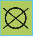 www.mueden.de, Pflegesymbol runder Kreis mit Pflegekennzeichen durdestrichener Kreis, bedeutet nicht chemisch reinigen