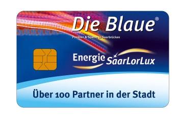 www.mueden.de, Die Blaue, Kundenkarte