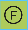 www.mueden.de, Pflegesymbol runder Kreis mi Buchstabe F, Pflegekennzeichen besagt chemische Reinigung in Flurchlorkohlenwasserstoff möglich