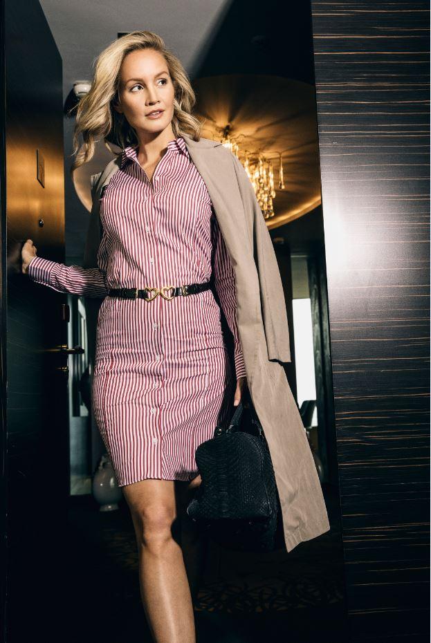 mueden.de, Masshemd, Maßblusenkleid, Modell Nr.02