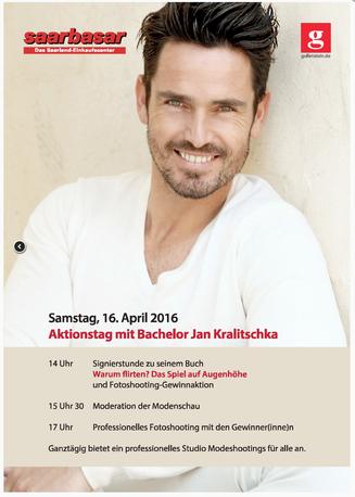 Bog, Bild von Flyer Aktionstag mit Bachelor Jan Kralitschka