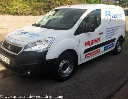 www.mueden.de, Kuscheltierspende, neuer Lieferwagen Peugeot Partner