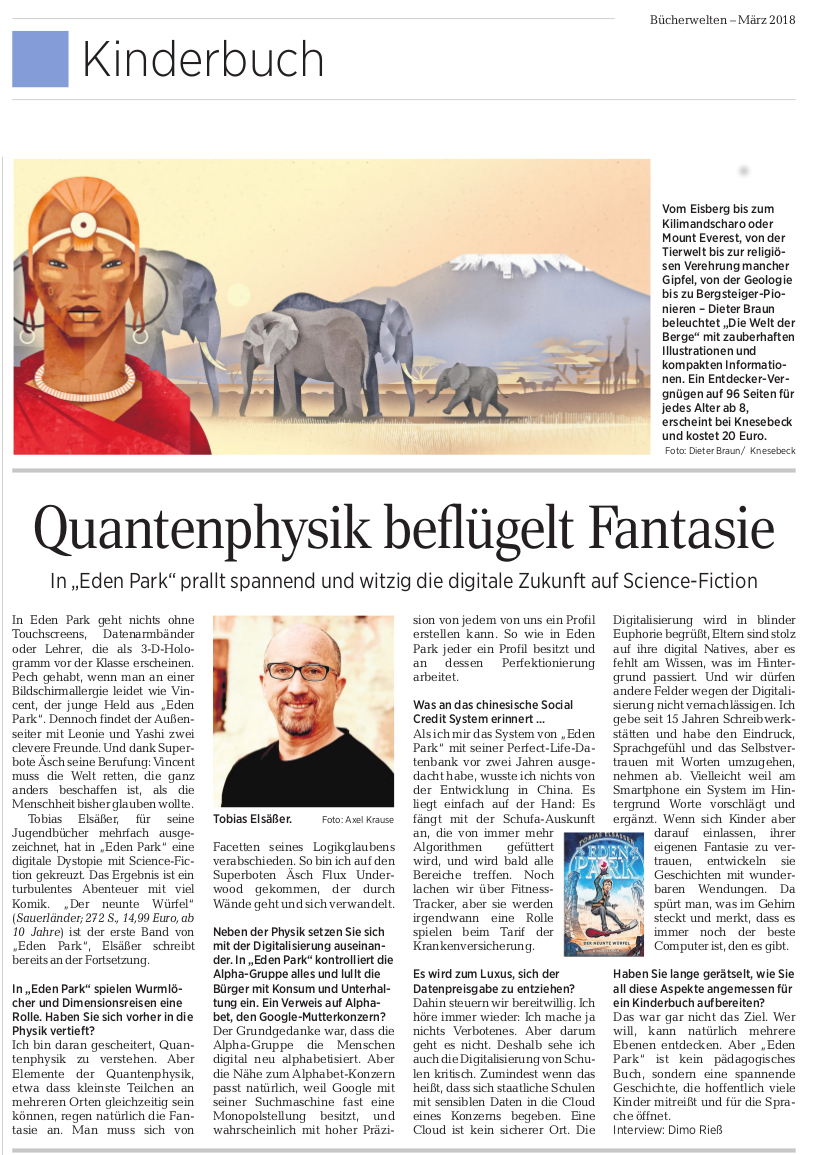EDEN PARK in der Leipziger Volkszeitung