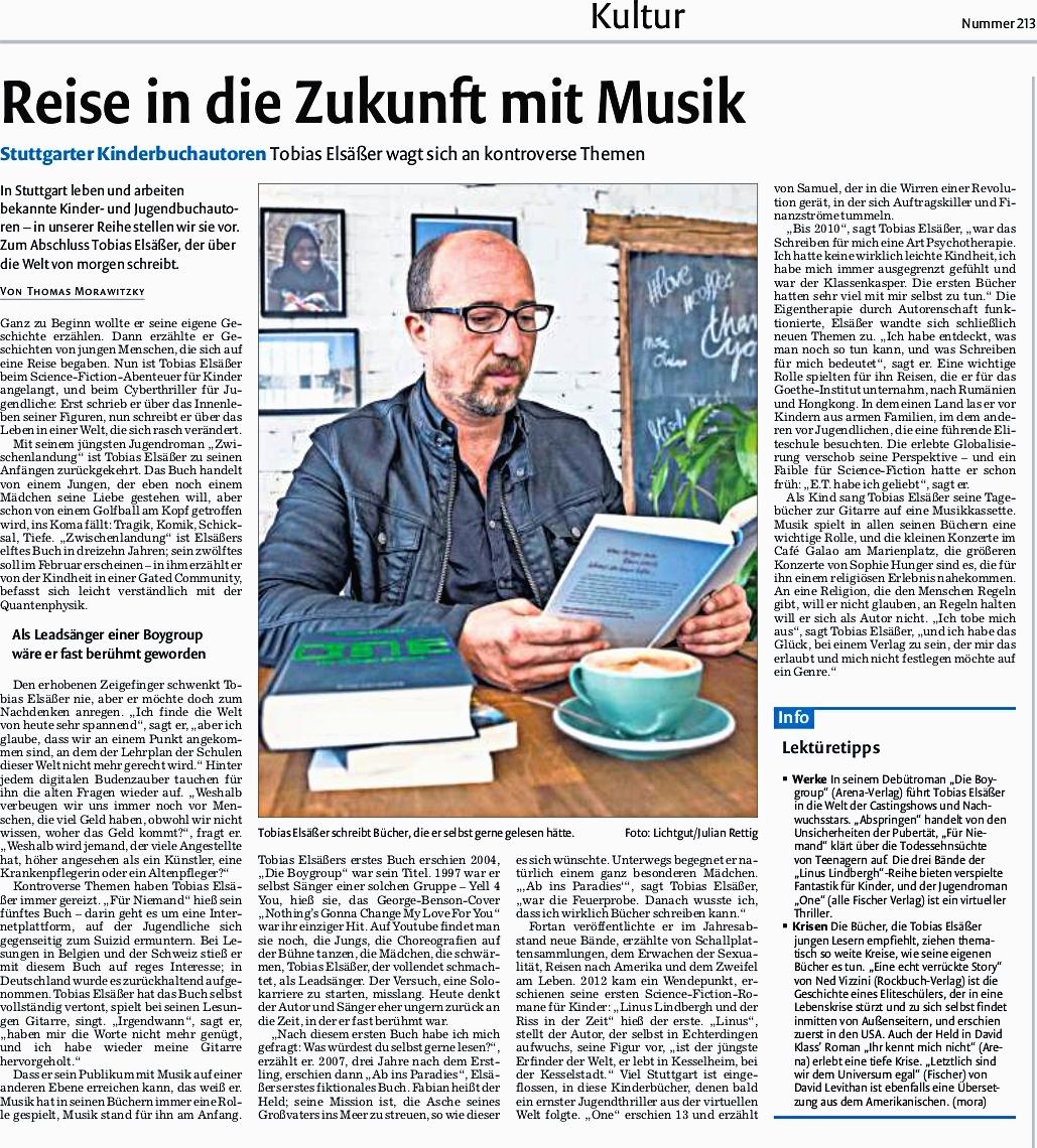 Stuttgarter Zeitung vom 14.09.2017