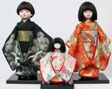 らんしょう和子の店の市松人形
