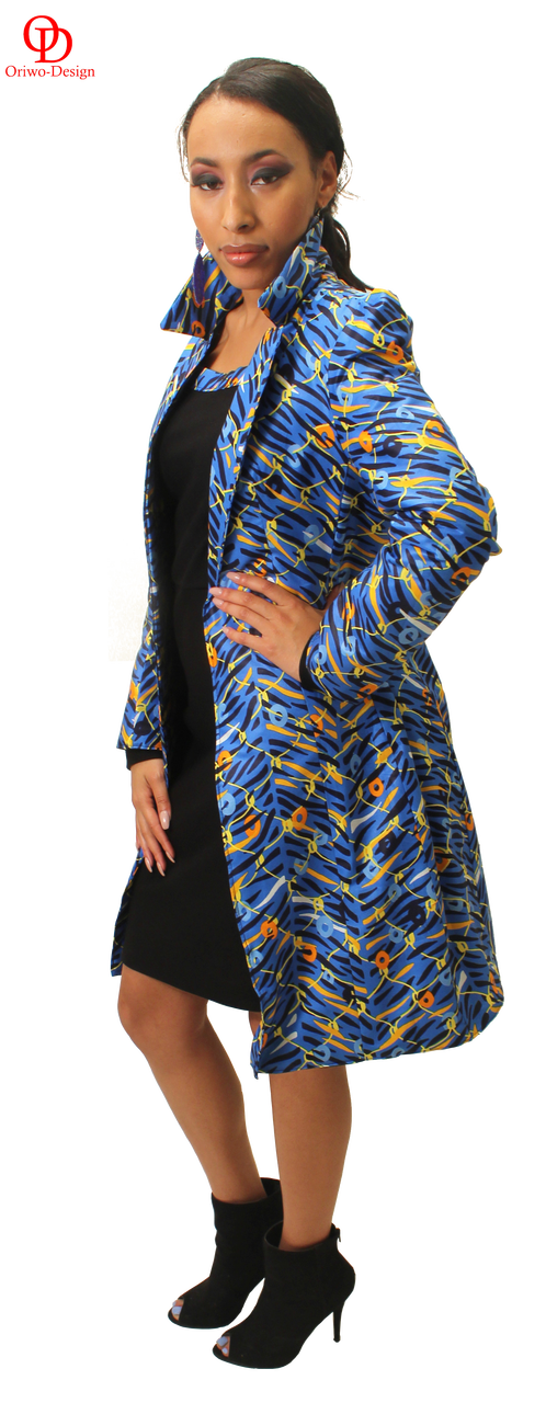Ankara trench coat