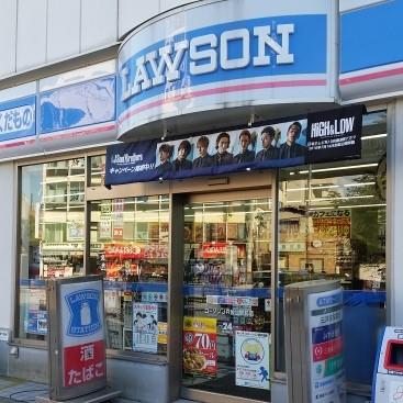 NKビル1階/ローソンJR放出駅前店
