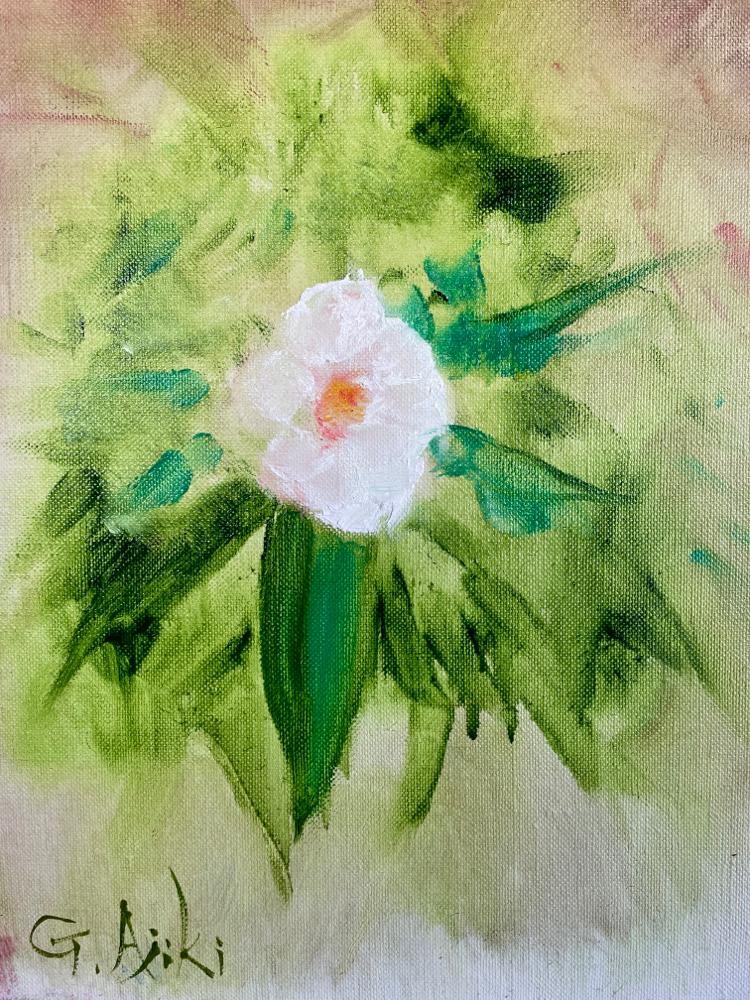 薔薇の微笑み   4号   あなたが微笑めば世界が微笑むあなたの微笑みは薔薇の微笑み