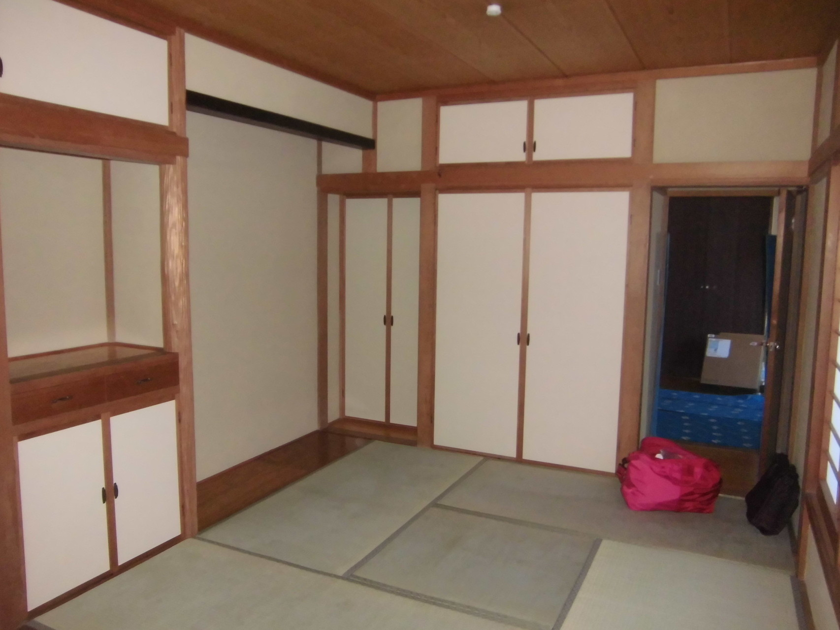 和室 壁塗替、畳表替、襖張替(After)
