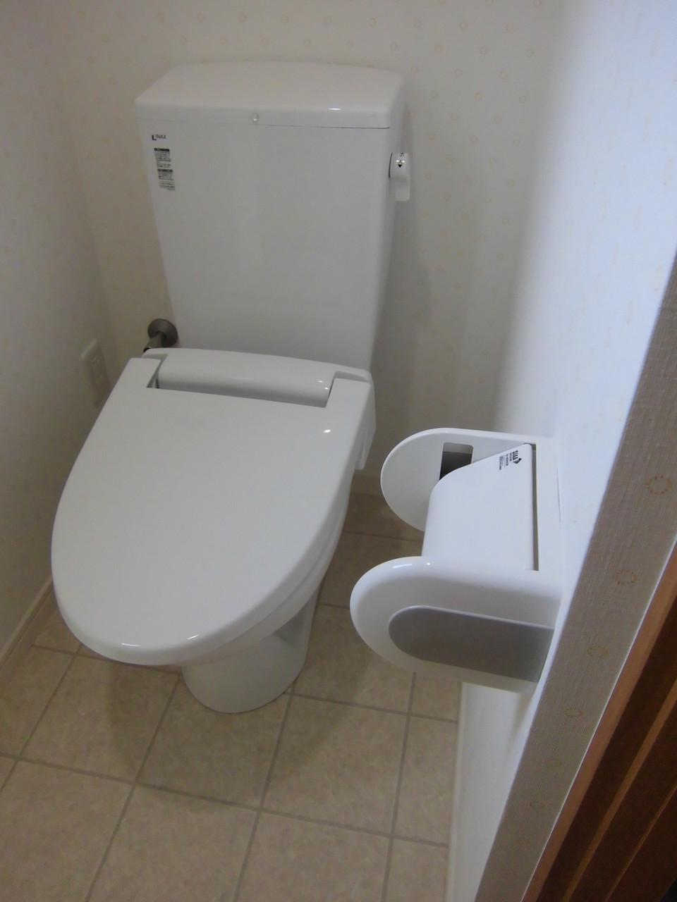 トイレもシンプル設計です