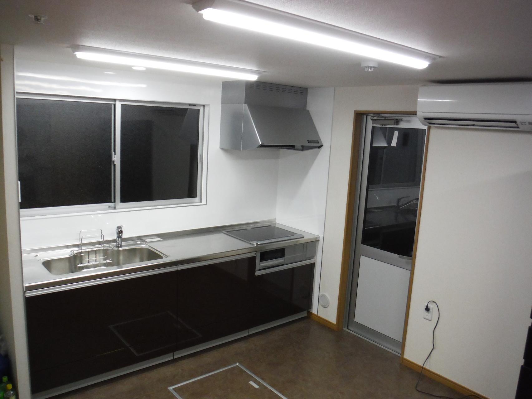 キッチン -作業しやすい広さを確保-