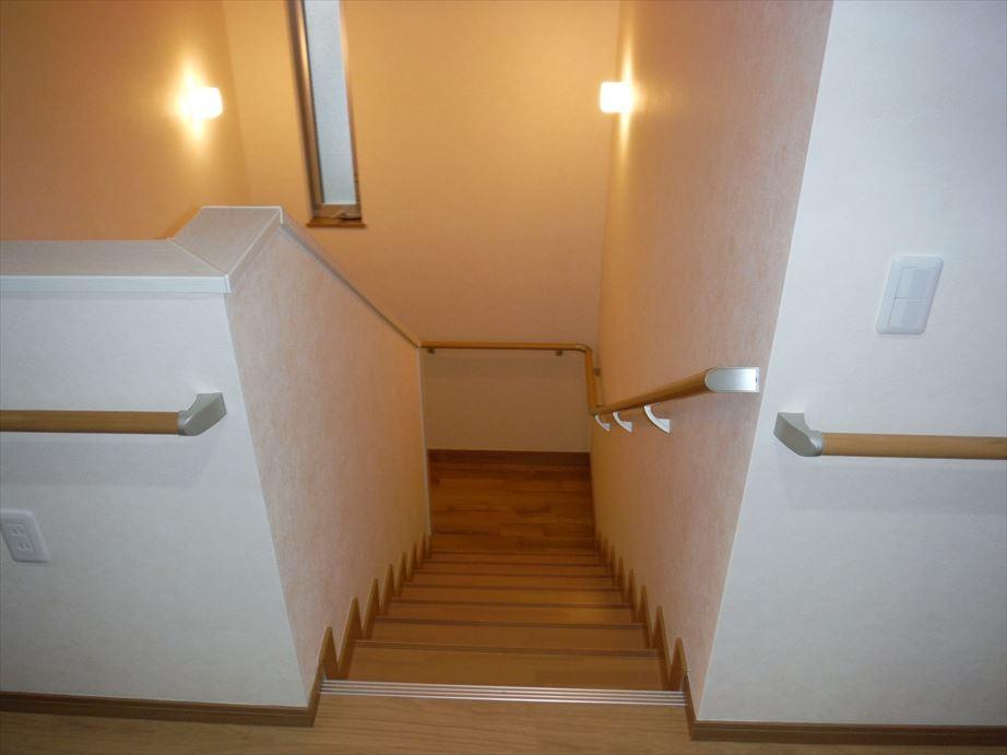 階段 -手すり設置-