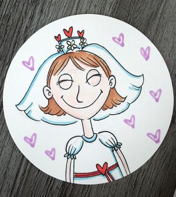 Anna als Braut