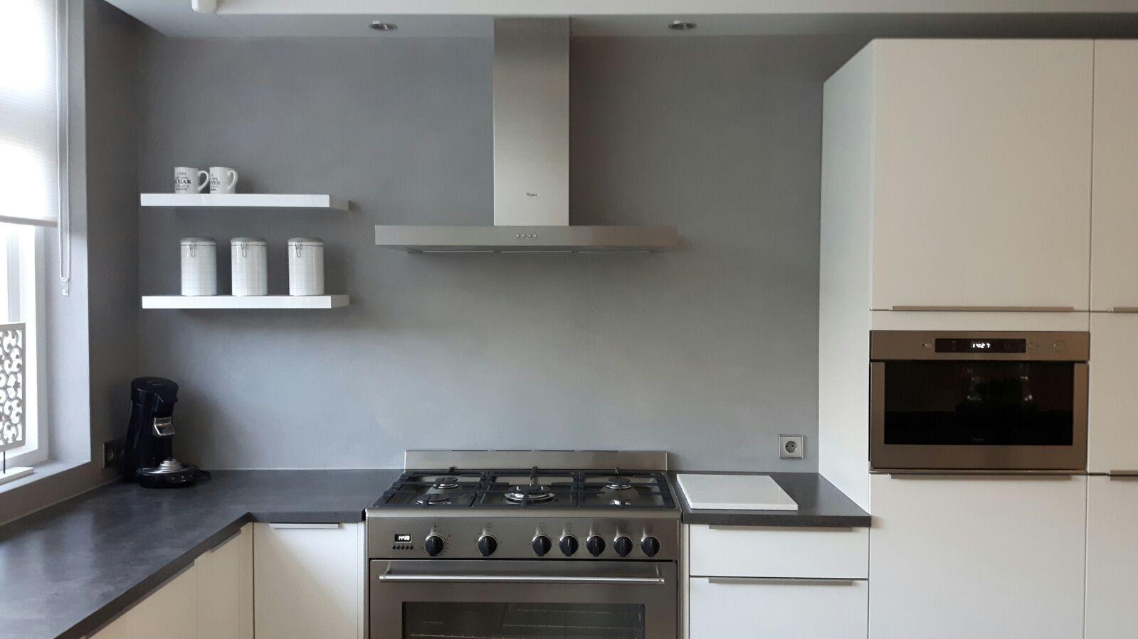 Beton Cire Keuken : Beton ciré stukadoorsbedrijfvandegraaf