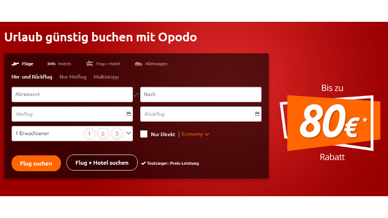 CheckEinfach | Bildquelle: opodo.de