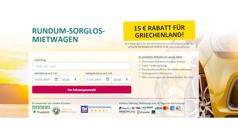 CheckEinfach | Bildquelle: sunnycars.de