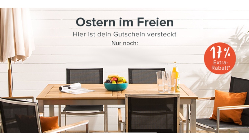 Home24 Gutschein 17 Oster Rabatt Auf Gartenmöbel Checkeinfachde
