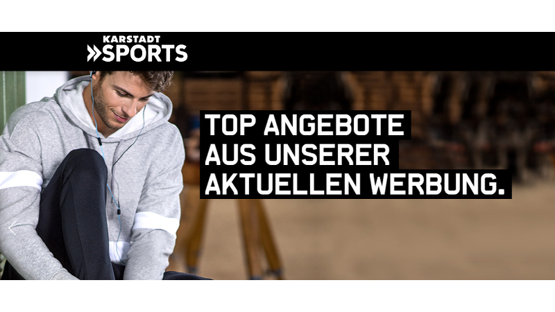 CheckEinfach | Bildquelle: karstadtsports.de