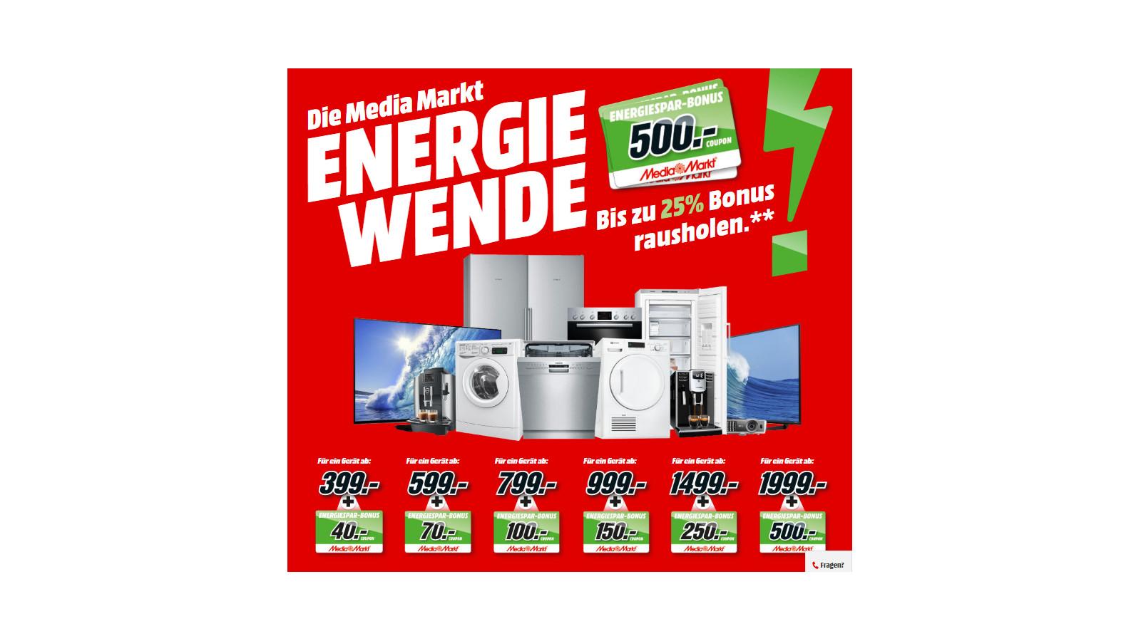 MediaMarkt Energiewende - einfach Stromkosten sparen! - CheckEinfach.de