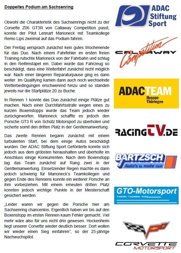 Pressebericht SachsenRing