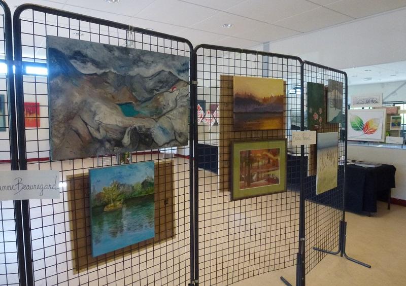 "Exposition ""Liane Briand Club"" à Jouy-en-Josas - Mai 2017"