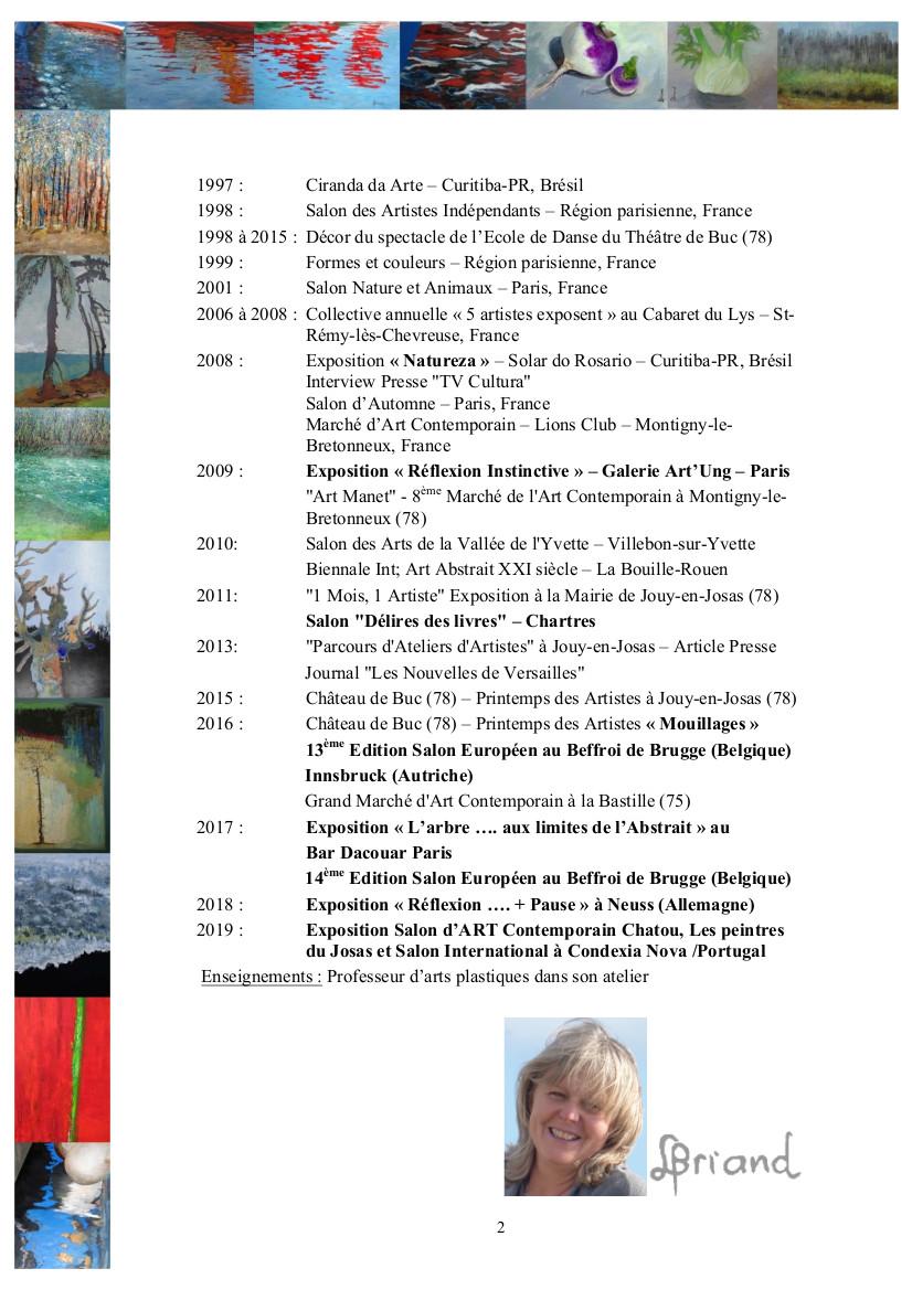 CV Liane BRIAND - Français - page 2