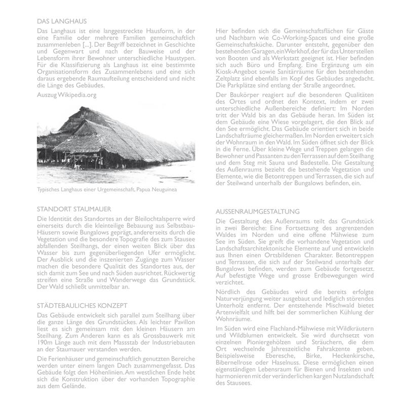 Erläuterung, Architekturbüro Voigt