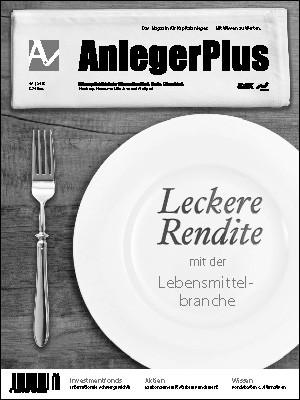 Titelseite AnlegerPlus Ausgabe 08/2015