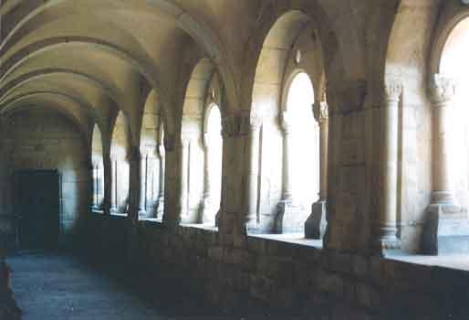 St. Michaelis, Ansicht Kreuzgangflügel nach Norden, Vorzustand