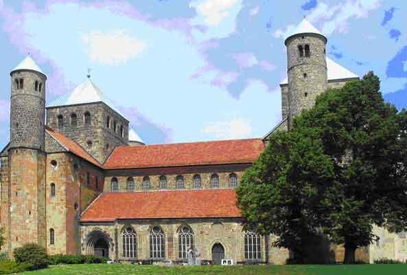 St. Michaelis, Außenansicht