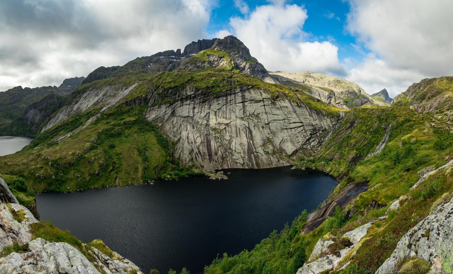 norwegische Bergwelt