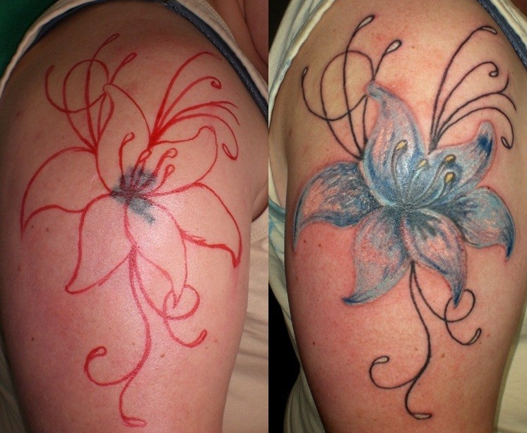 cover up Tattoo Greifswald