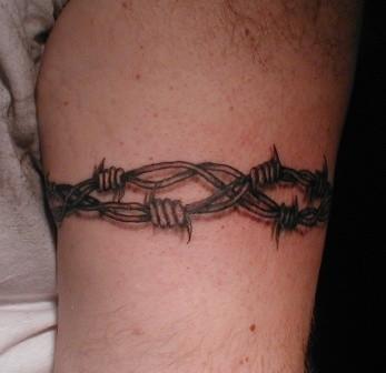 Stacheldraht Tattoo Greifswald